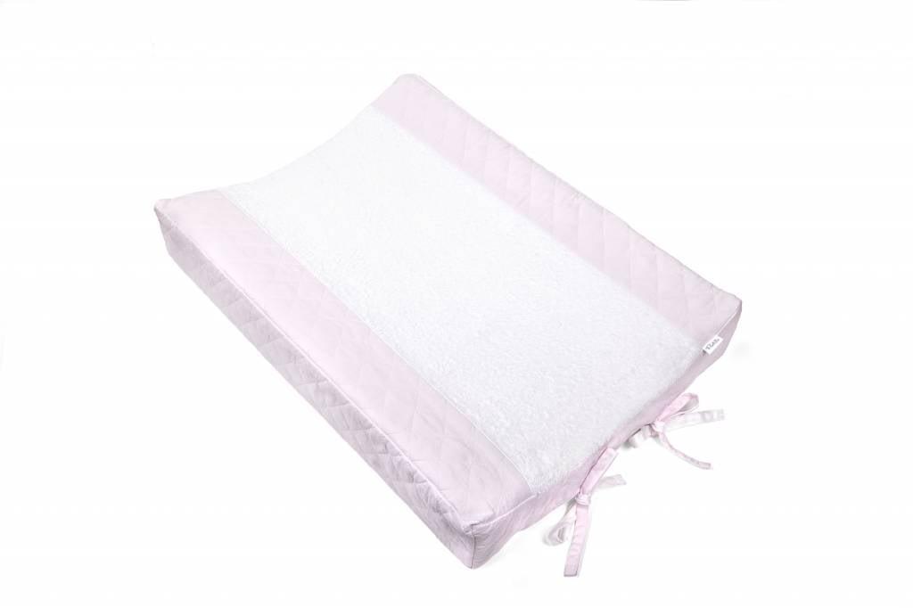 Aankleedkussenhoes Oxford Soft Pink-3