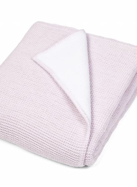 Crib blanket with soft sparkle