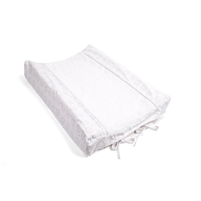 Changing mat cover Little Forest Grey-1