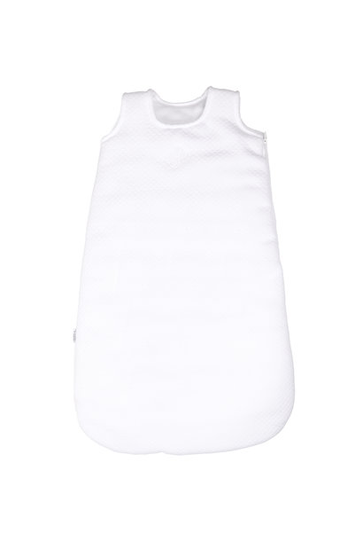 New Born Sleeping bag 65cm Winter Serenity White