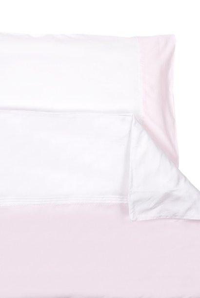 Dekbedovertrek & kussensloop Oxford Soft Pink