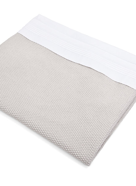 Crib sheet & half fitted sheet