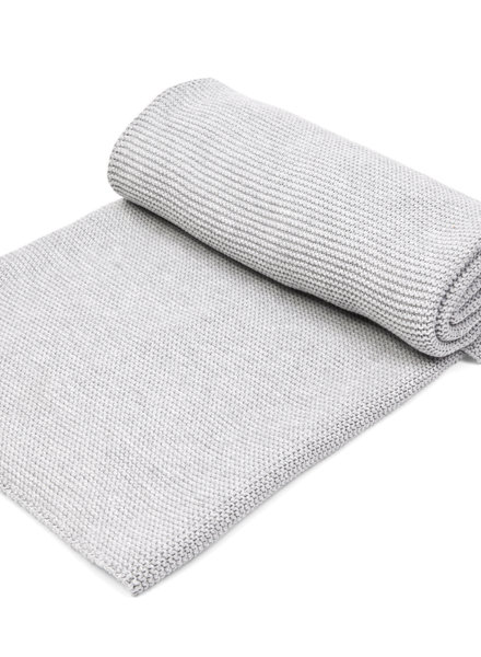 Cot blanket lined with soft sparkle