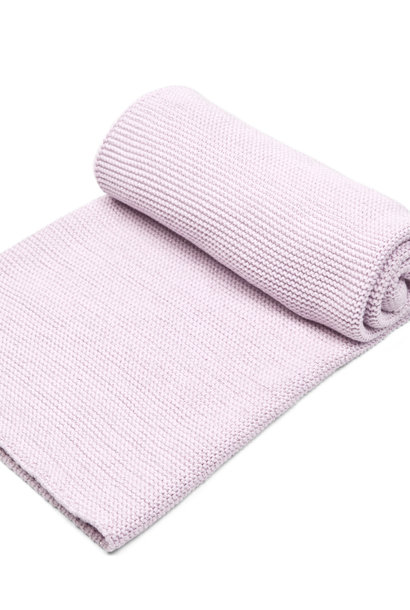 Cot blanket with soft sparkle Pink