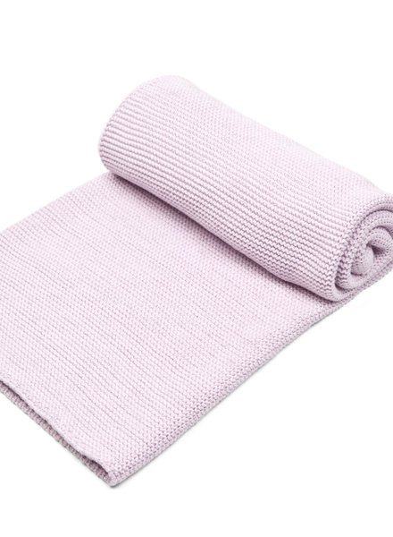 Cot blanket with soft sparkle