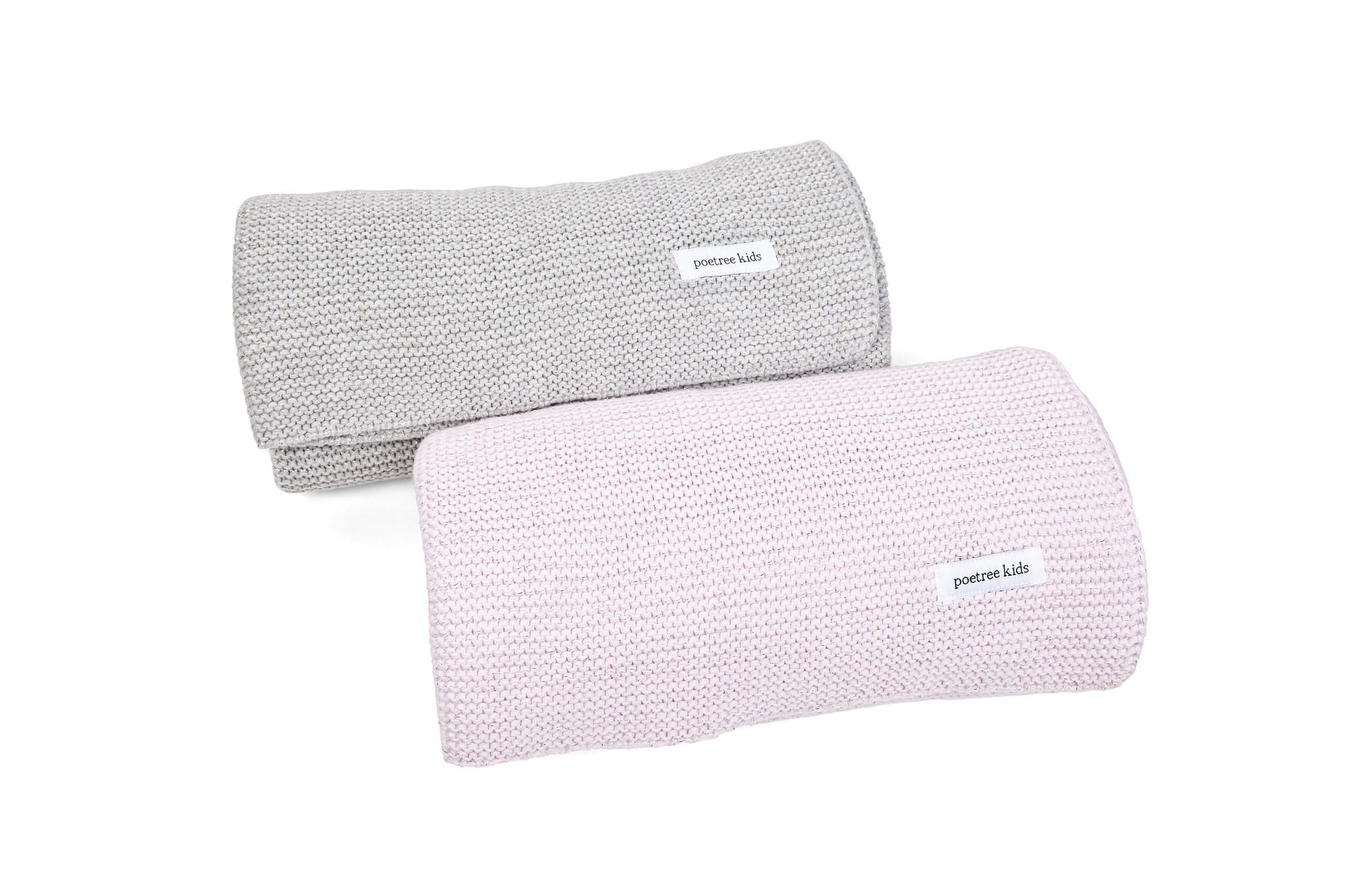 Cot blanket with soft sparkle-2