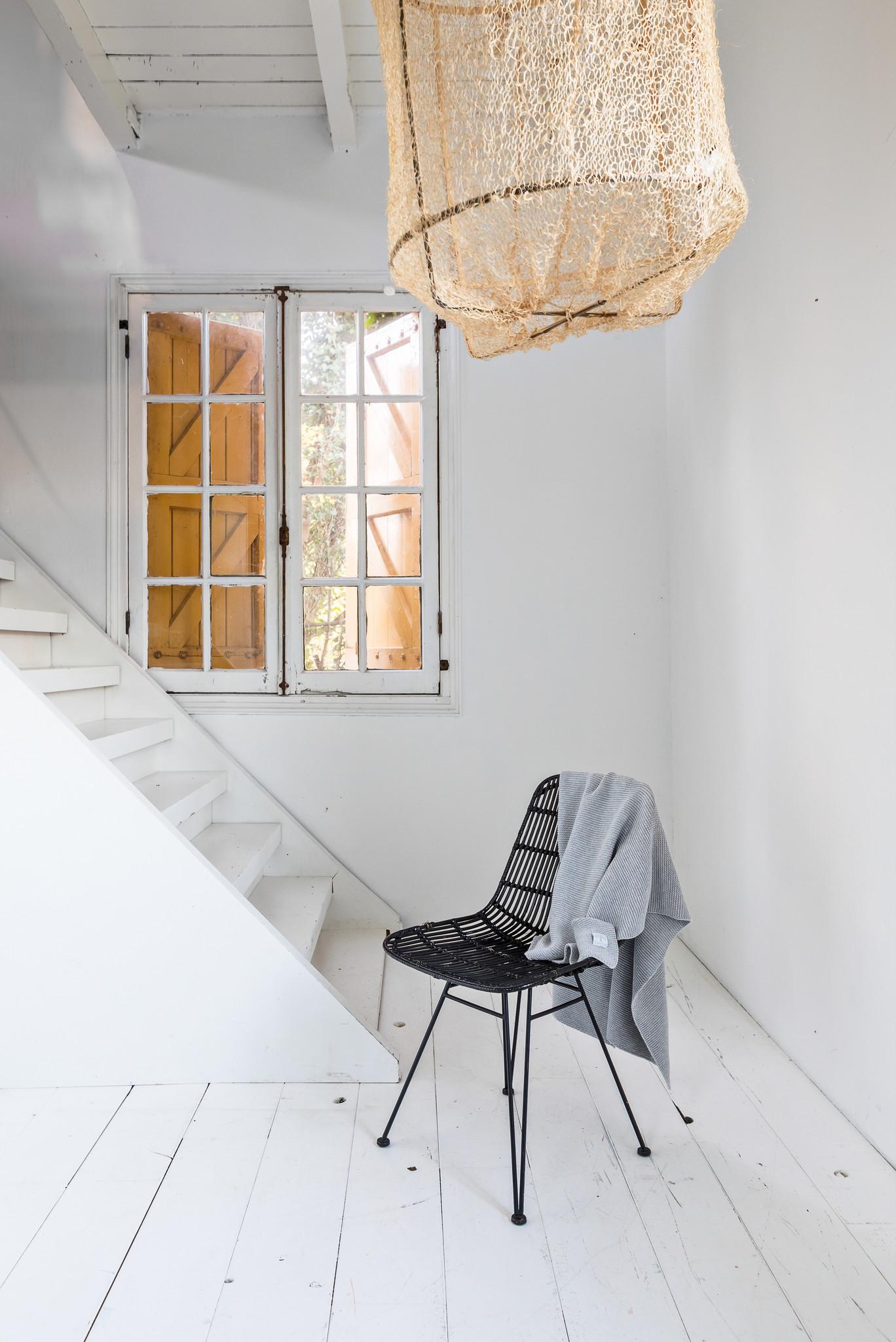 Wieg deken Light Grey Melange-2