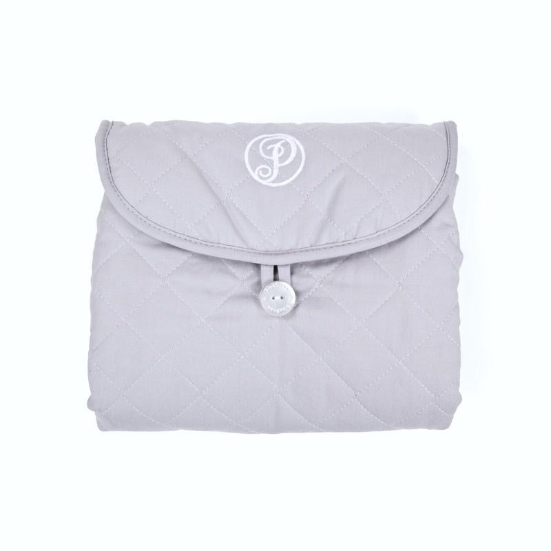 Portable changingmat Oxford Grey-2