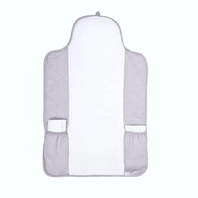 Portable changingmat Oxford Grey-1