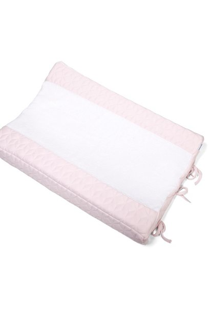 Aankleedkussenhoes Star Soft Pink