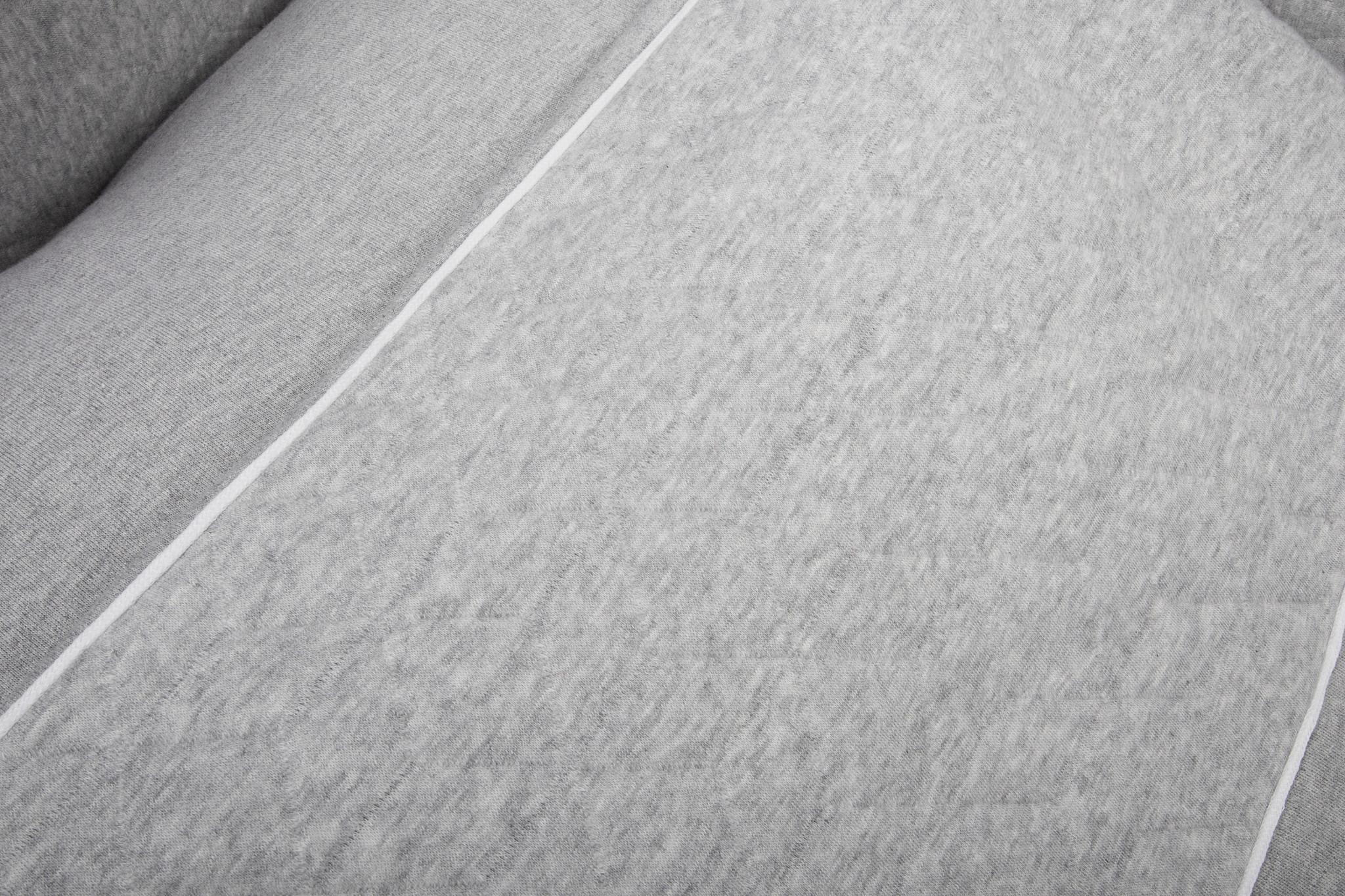 Housse de Couette  80x80cm & Taie d'oreiller Star Grey Melange-3