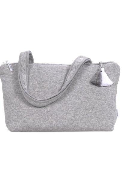 Nursery bag Star Grey Melange