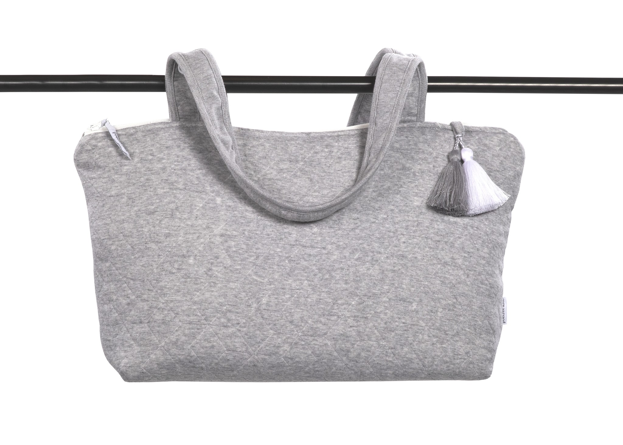 Sac landau Star Grey Melange-5