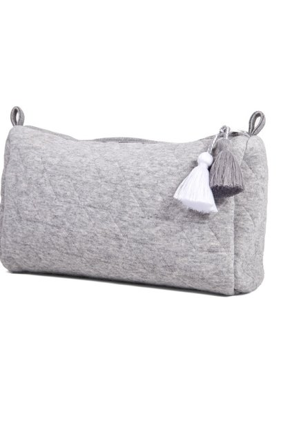 Toiletry bag Star Grey Melange