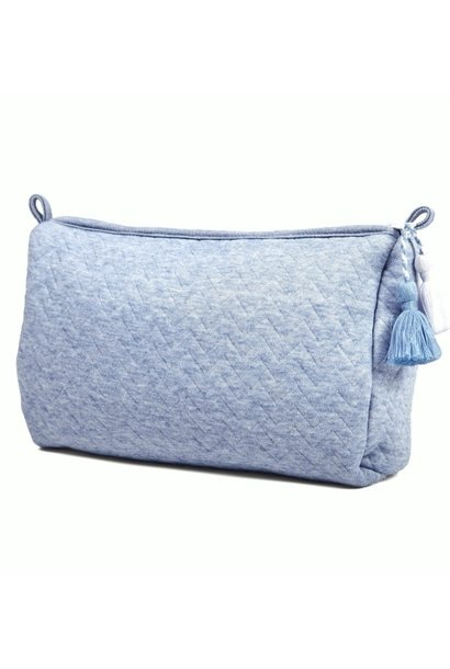 Trousse de toilette Chevron Denim Blue