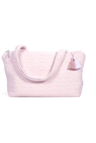 Nursery bag Star Soft Pink