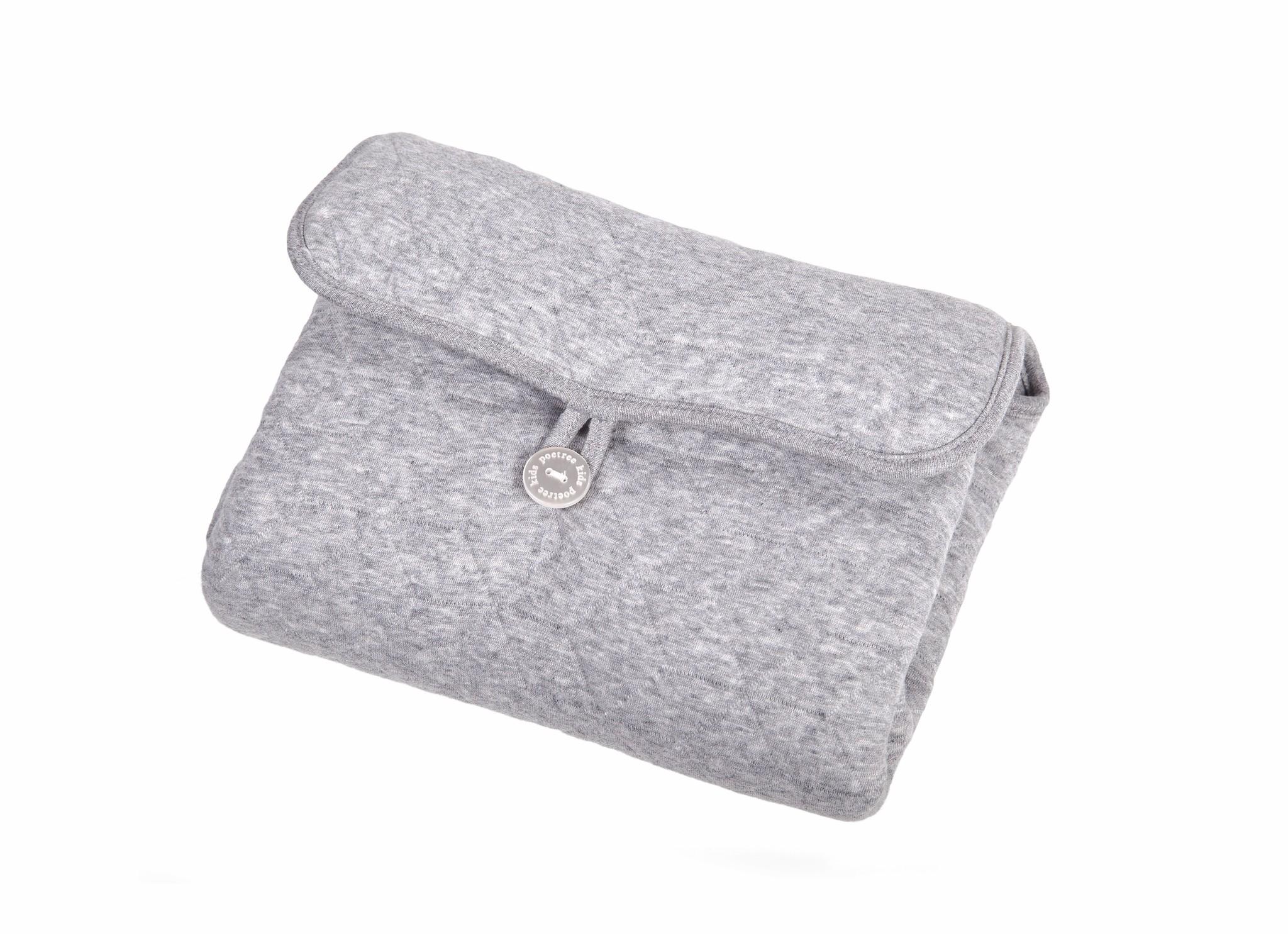Portable changingmat Star Grey Melange-2