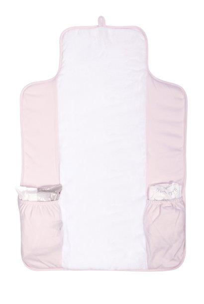 Portable changingmat Star Soft Pink