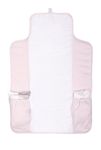 Portable changingmat Star Soft Pink