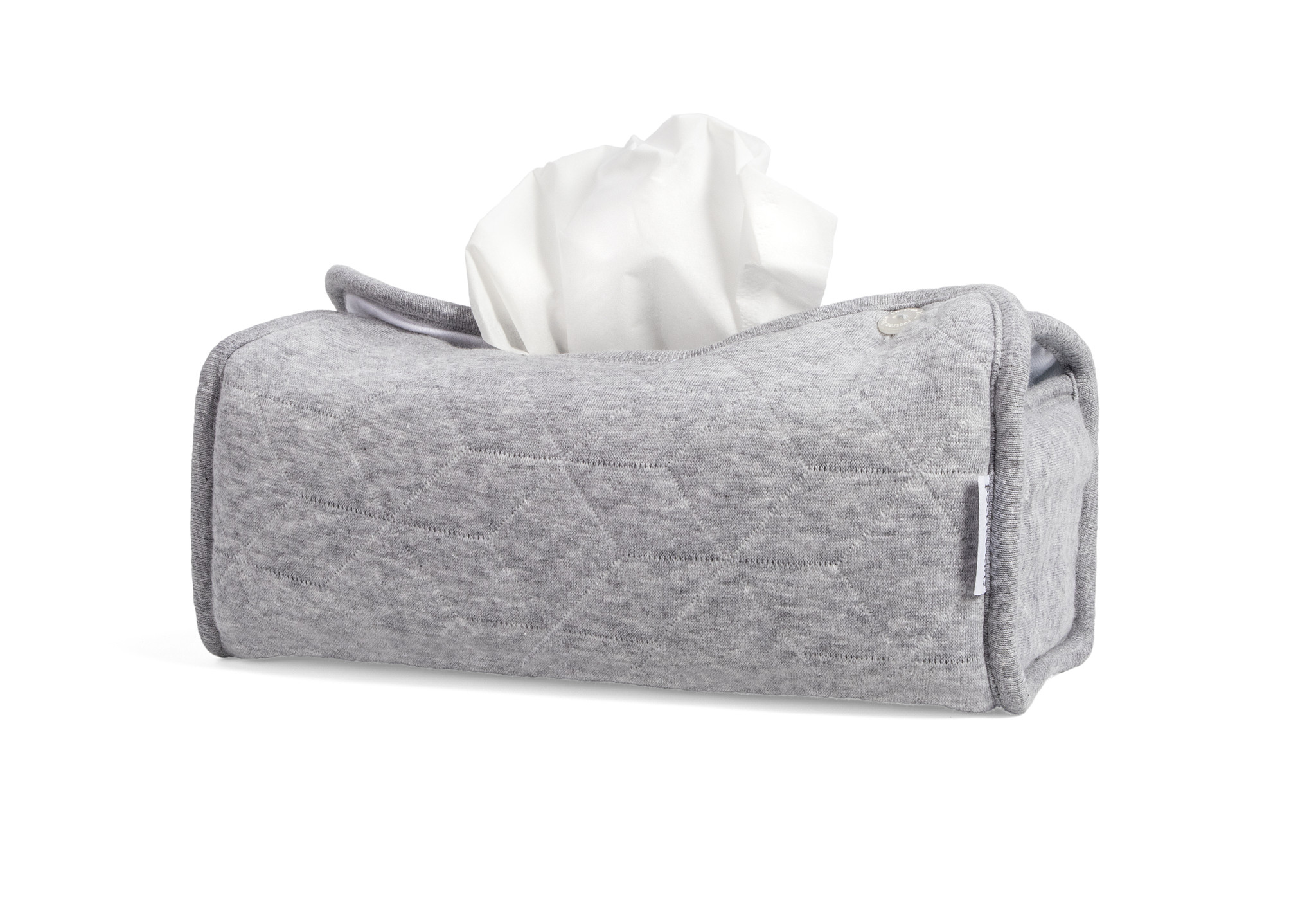 Tissue box hoes Star Grey Melange-2