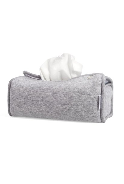 Tissue box hoes Star Grey Melange