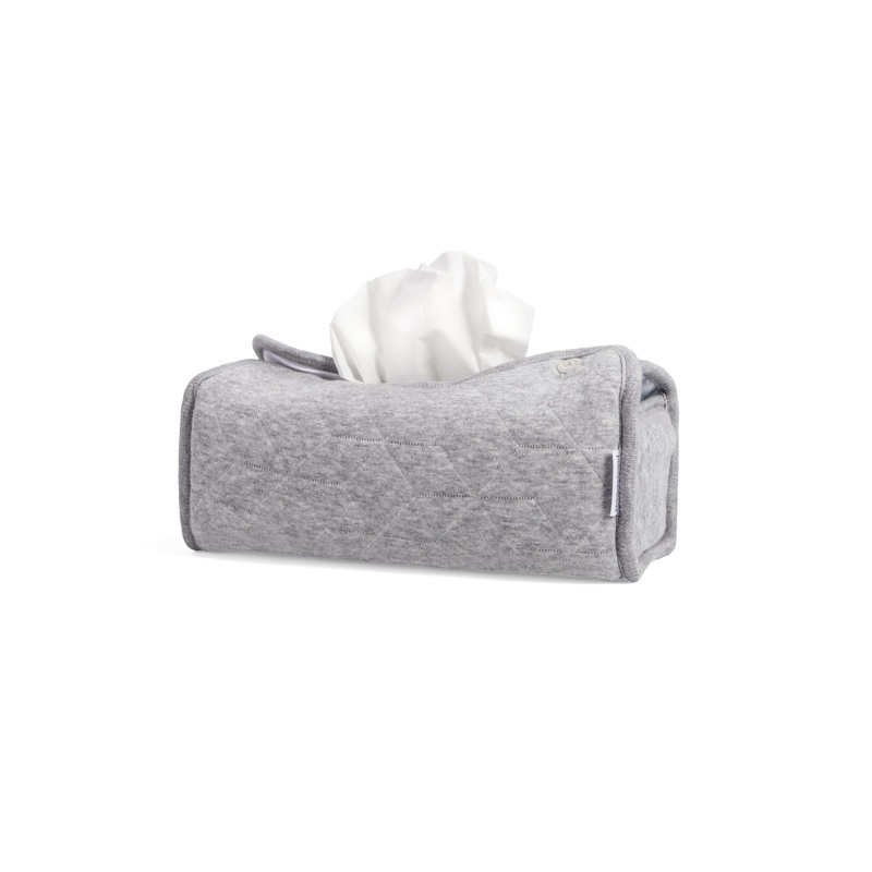 Tissue box hoes Star Grey Melange-1