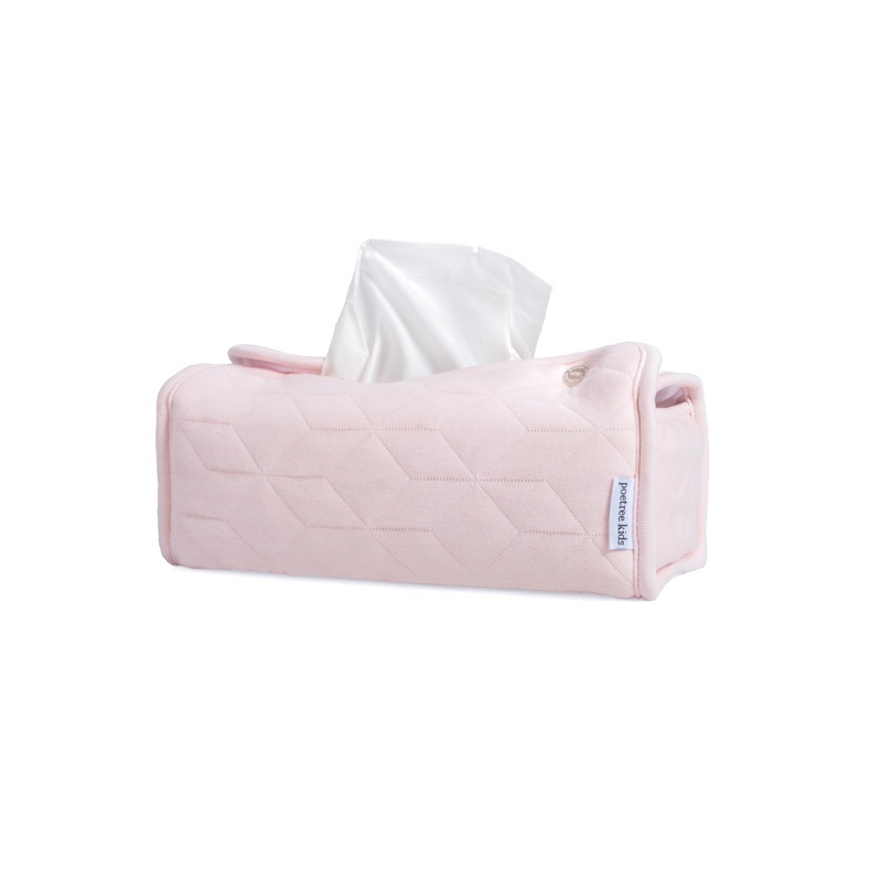 Tissue box hoes Star Soft Pink-1