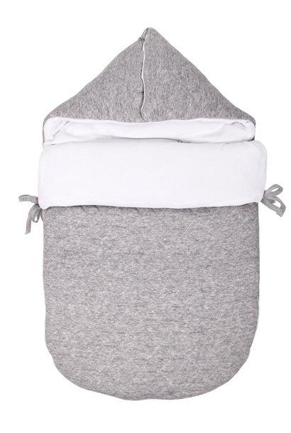Voetenzak Star Grey Melange