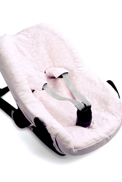 Car seat cover Star Soft Pink