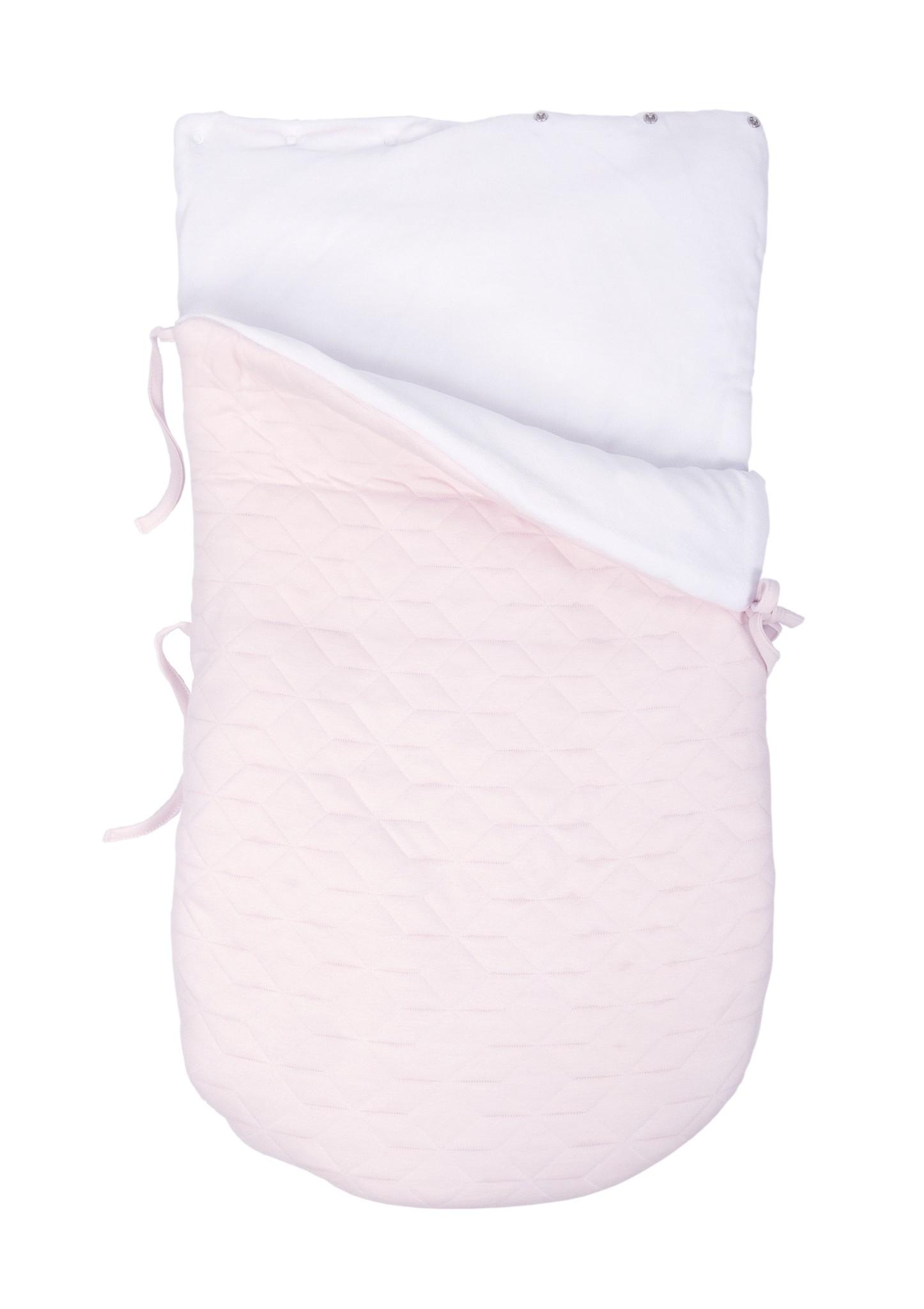 Nid d'ange bébé 5 points Star Soft Pink-5