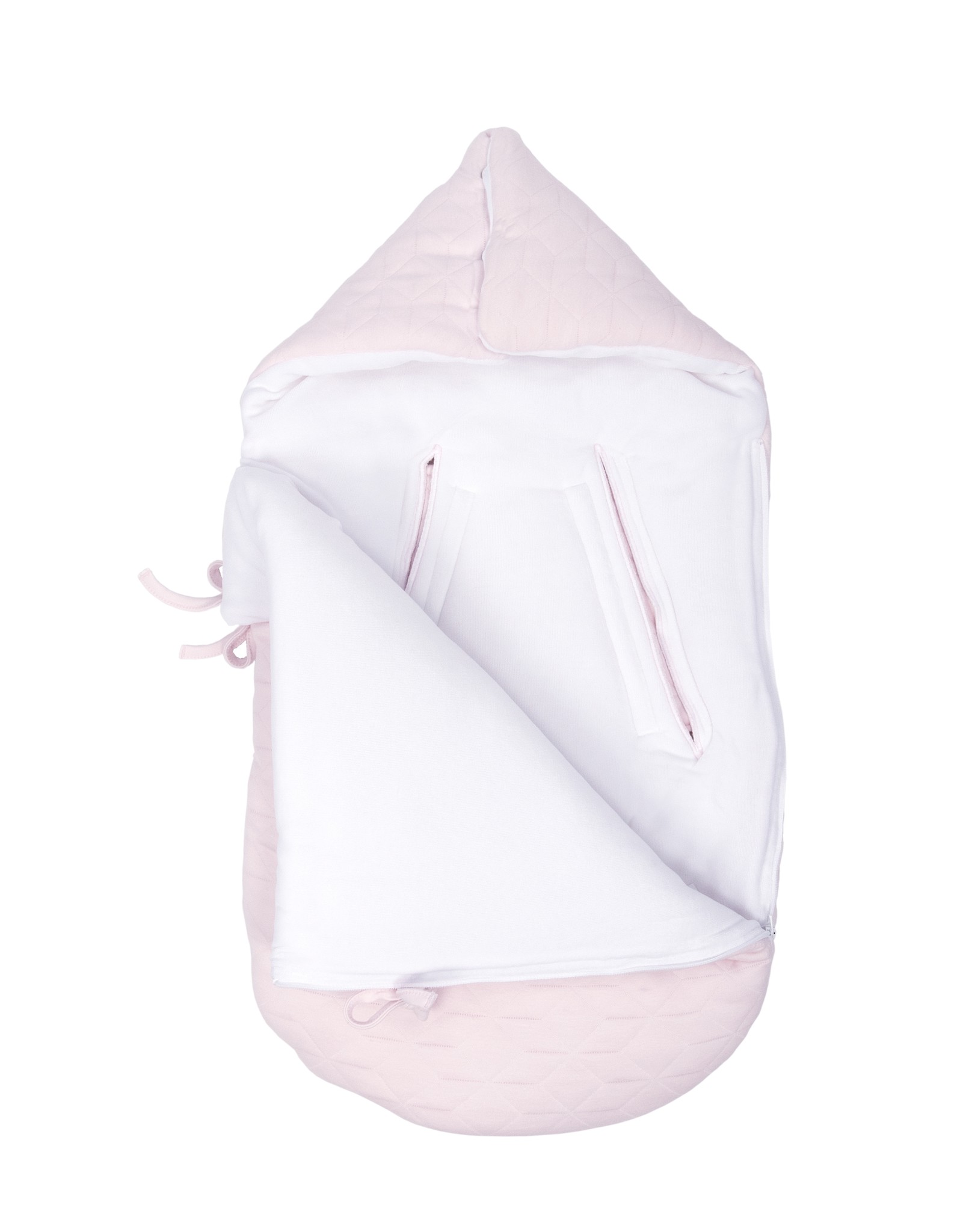 Nid d'ange bébé 5 points Star Soft Pink-6
