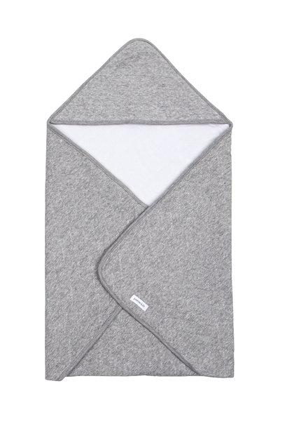 Couverture enveloppante Star Grey Melange