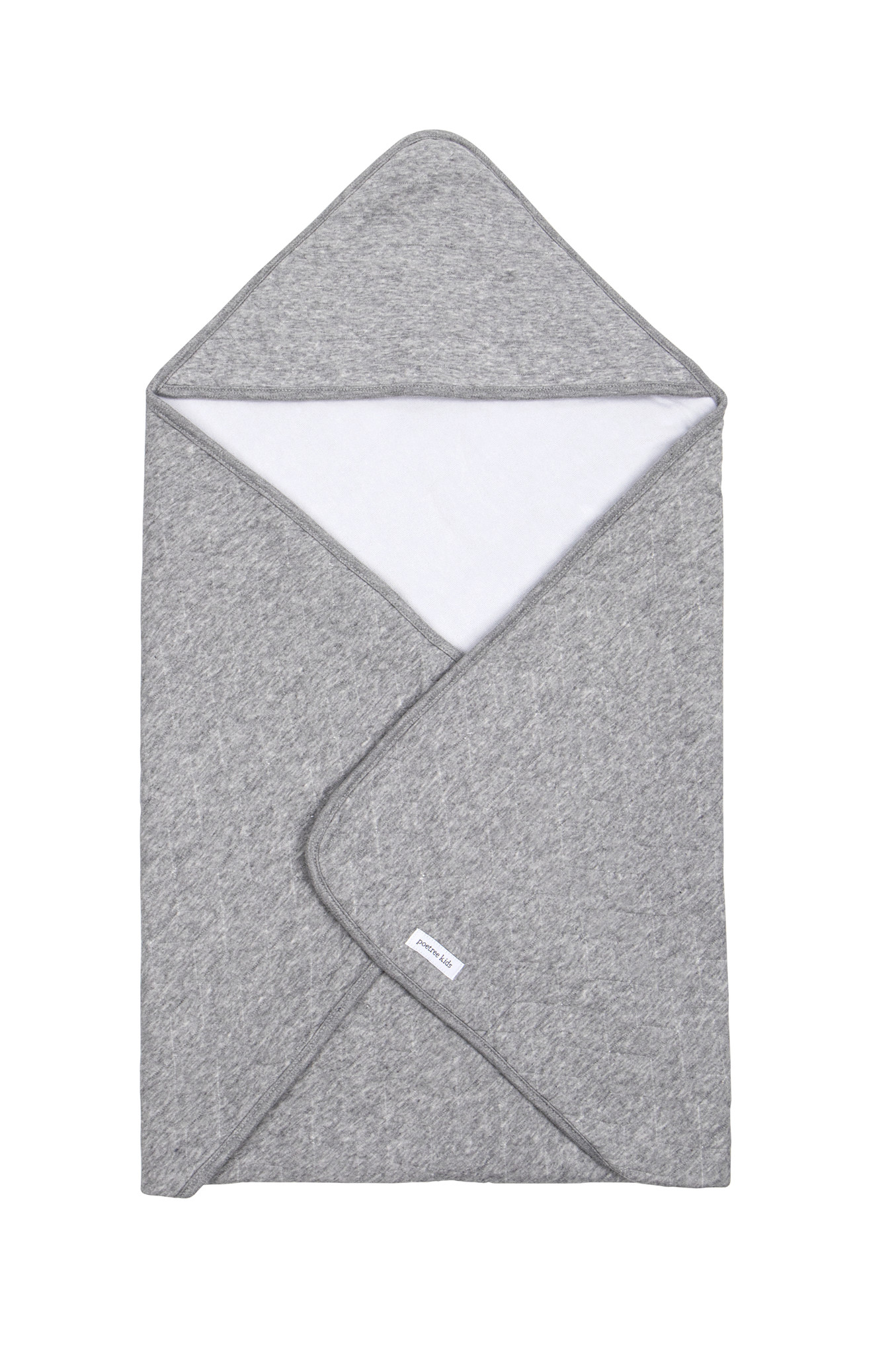 Wrapping blanket Star Grey Melange-1