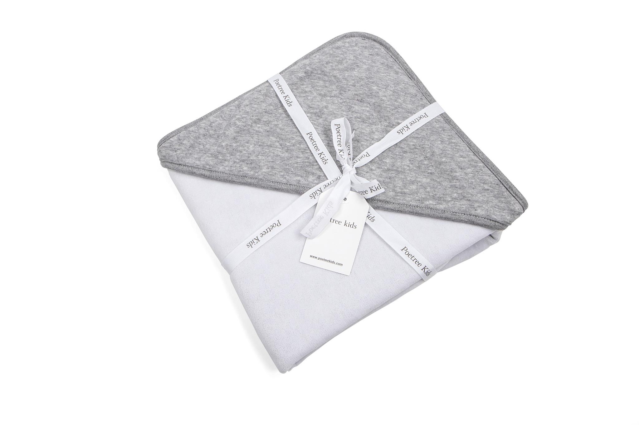 Wrapping blanket Star Grey Melange-2