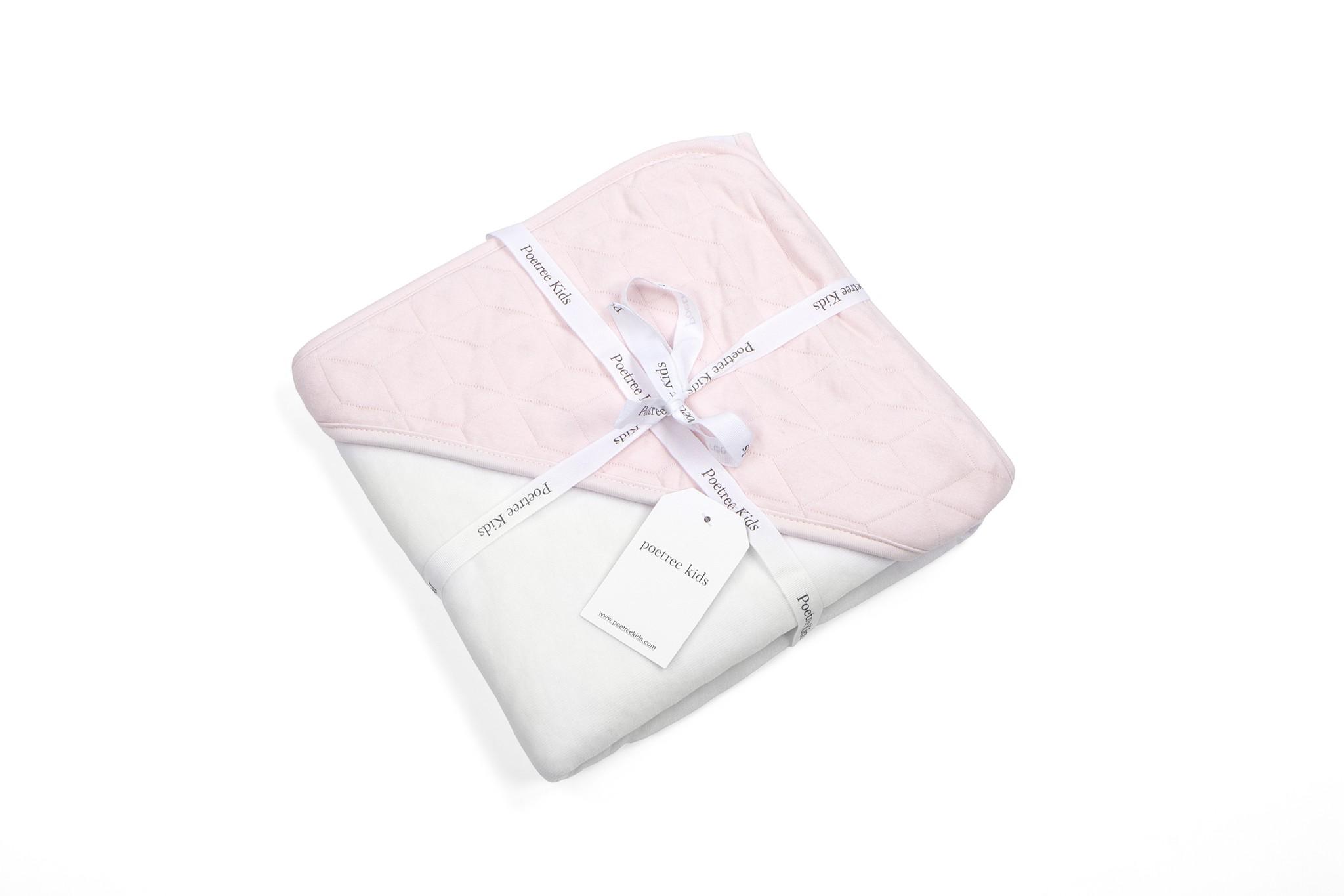 Wikkeldeken Star Soft Pink-2