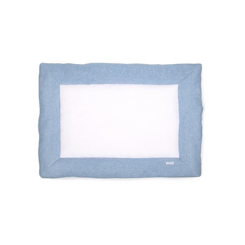 Playpen mat Chevron Denim Blue-1