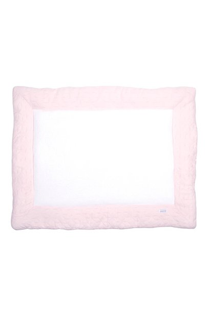 Playpen mat Star Soft Pink