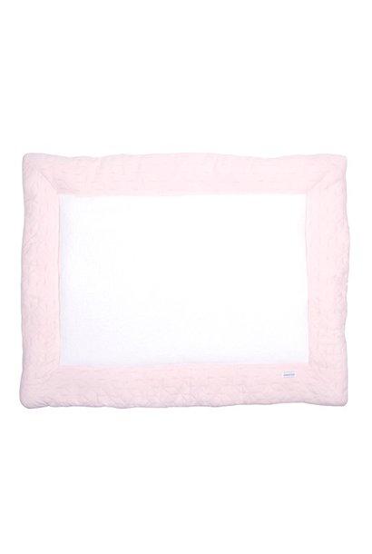 Playpen mat Star Soft Pink