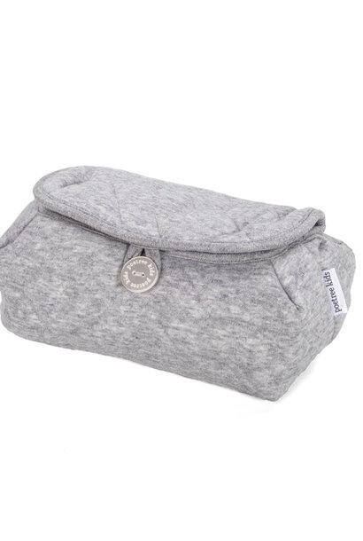 Baby wipes cover Star Grey Melange