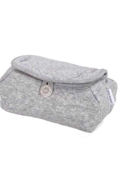 Housse de lingettes pour bébé Star Grey Melange