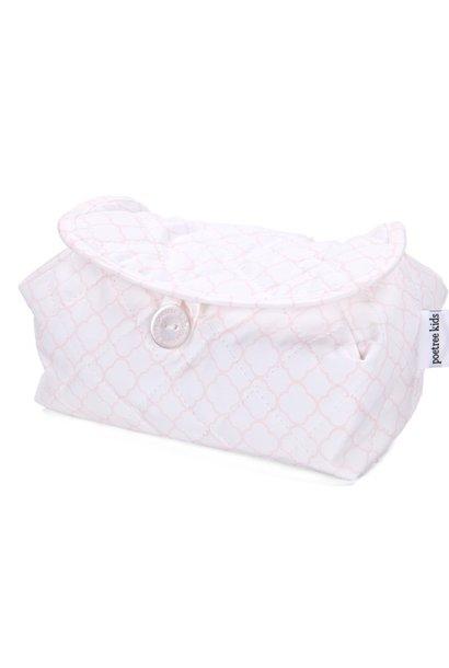 Housse de lingettes pour bébé