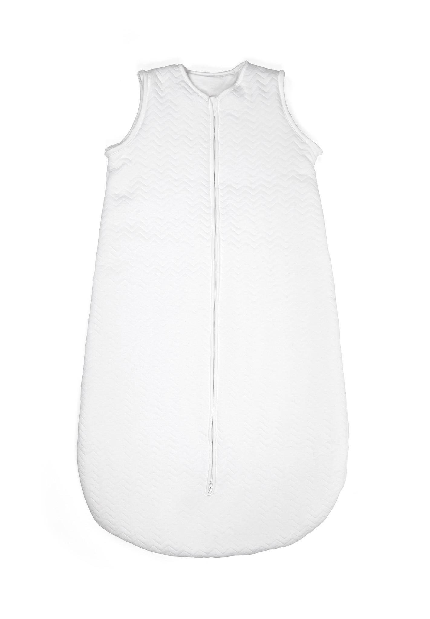 Sac de couchage en jersey 90cm Été Chevron White-1