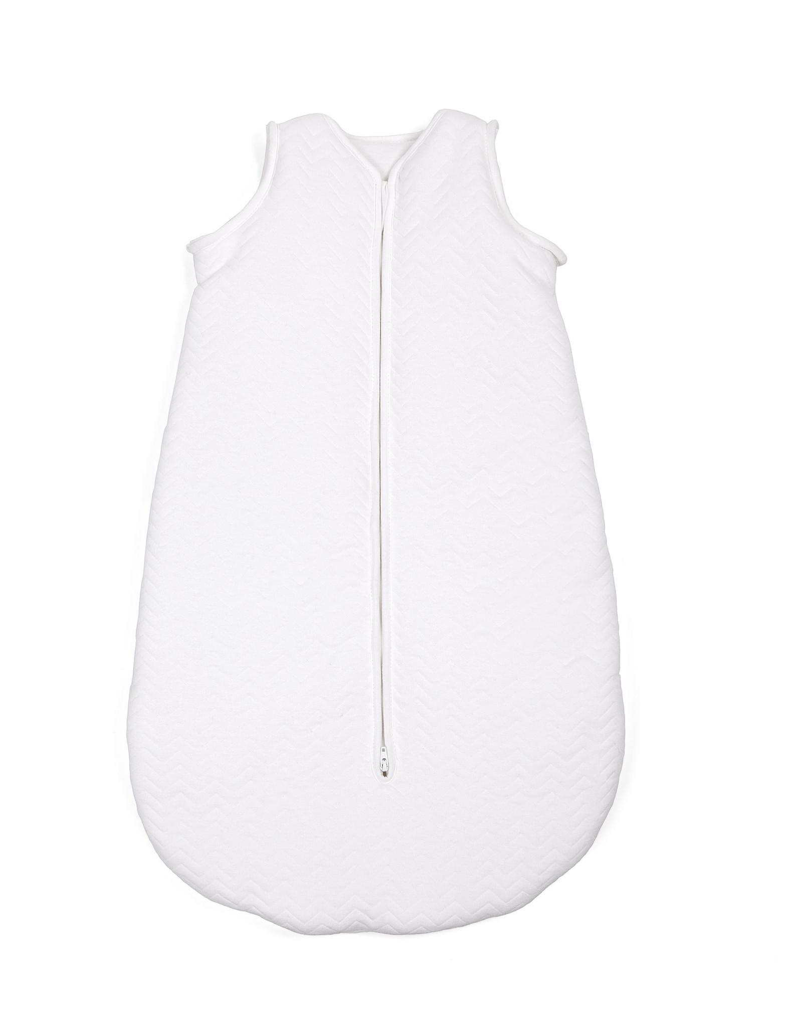 Sac de couchage en jersey 70cm Été Chevron White-1