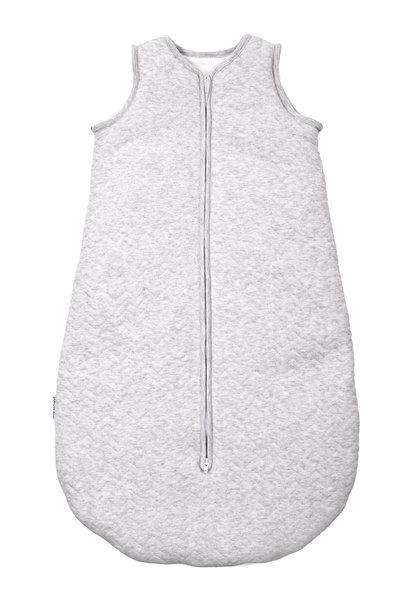 Sleeping bag 70cm Summer Chevron Light Grey Melange