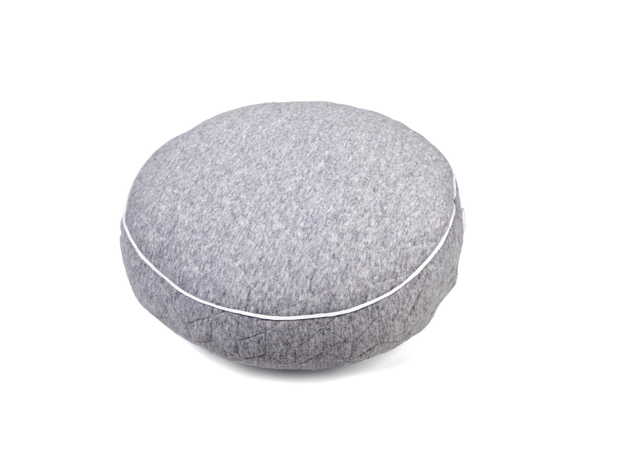 decoration Pillow Star Grey Melange-1