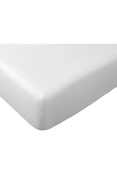Fitted sheet cotton sateen for crib & pram mattress