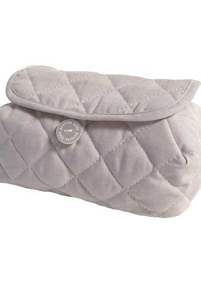 Baby wipes cover Oxford Taupe