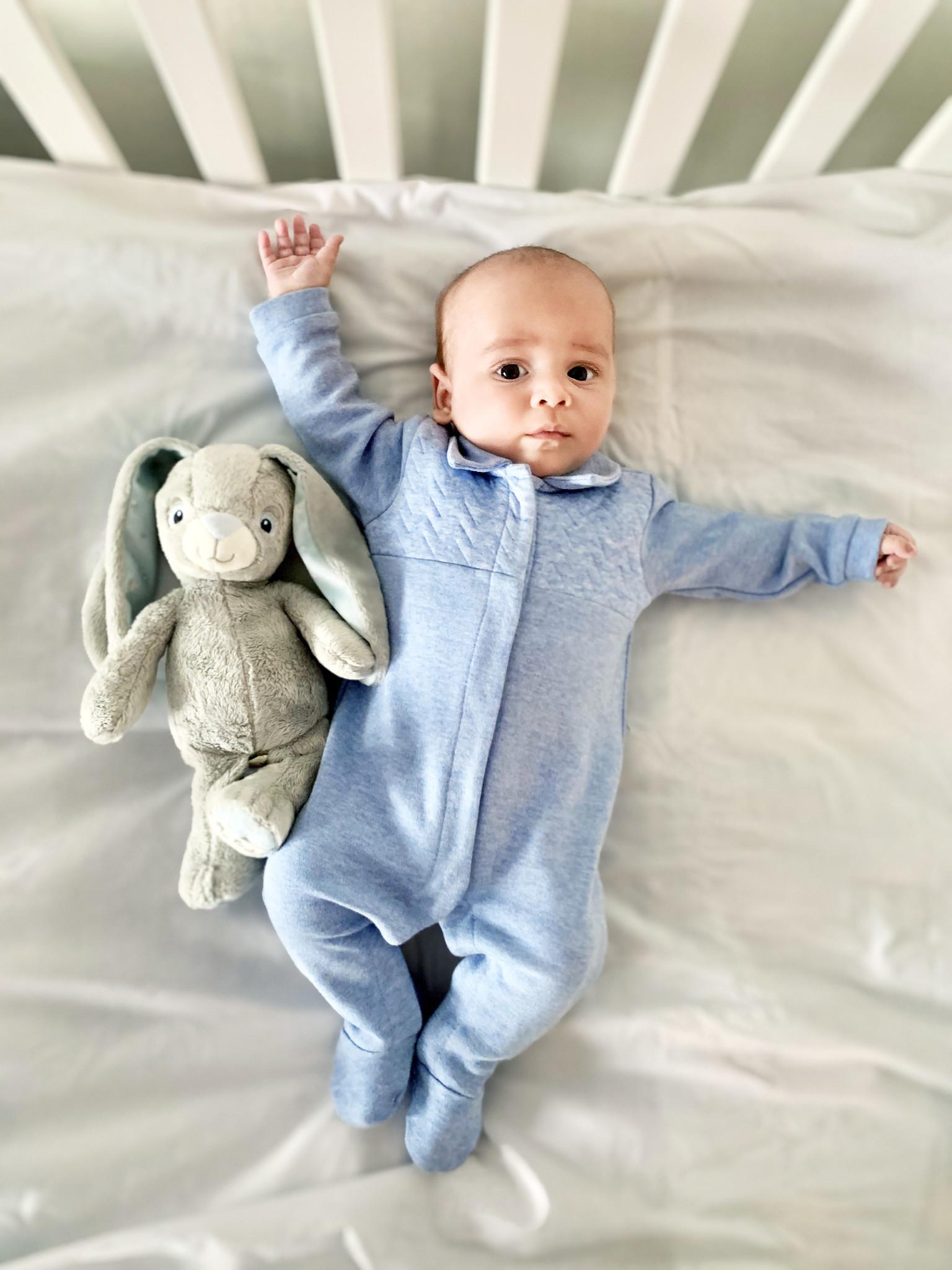 Babypakje Chevron Denim Blue-2