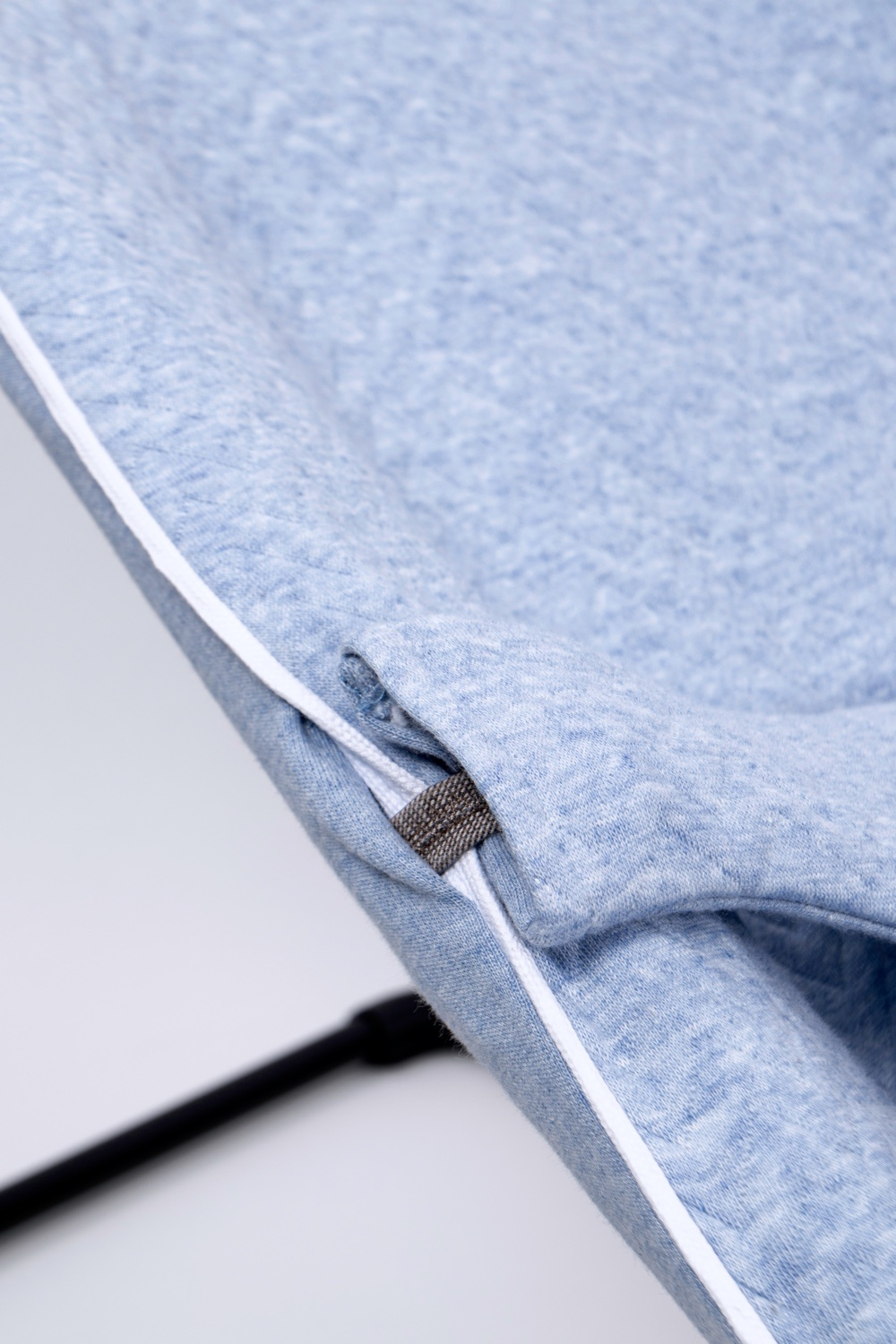 Protective cover for the Babybjörn bouncer Chevron Denim Blue-5