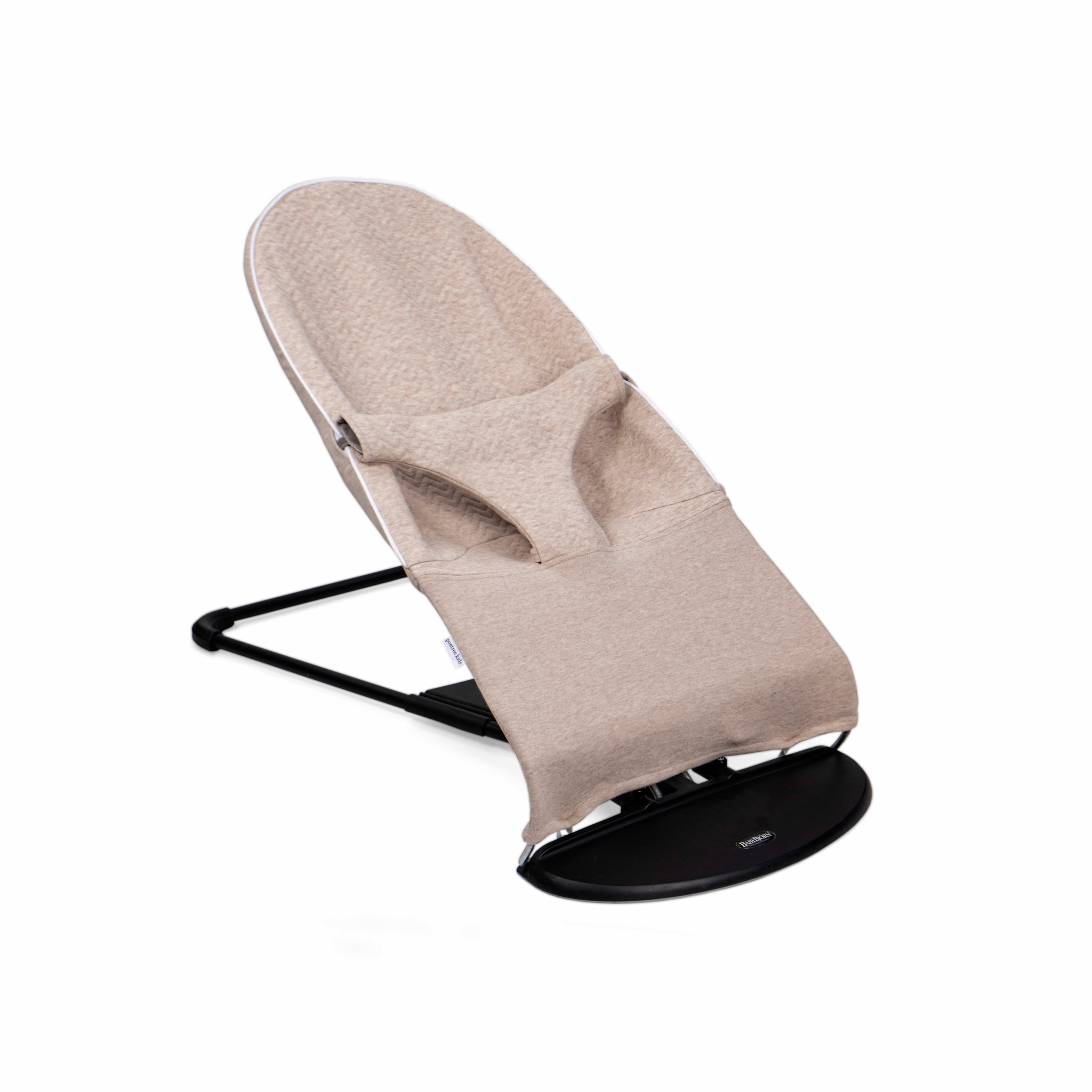 Protective cover for the BabyBjörn bouncer Chevron Light Camel-1